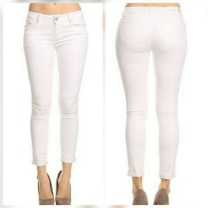 Pants - 🆕 White Push Up Skinny Jeans